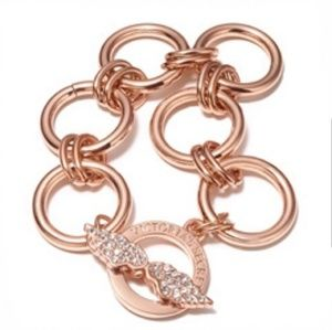 Victoria's Secret Rose Gold Angel Wings Bracelet